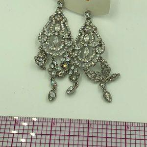 Fashion metal crystal earring